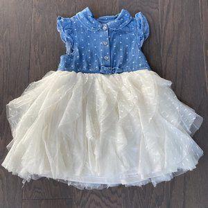 🎀3/$12🎀Nannette Baby Floral Lace Dress